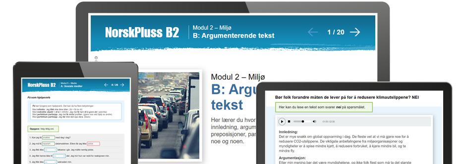 NorskPluss B2 - skjermbilder