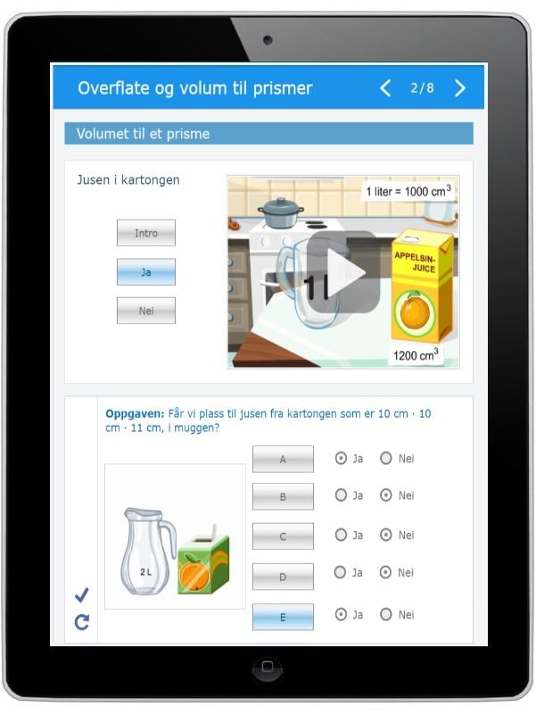 Digitalt læremiddel for tverrfaglig undervisning for Fagfornyelsen og underveisvurdering.