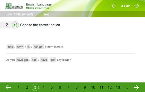 plasseringstest engelsk