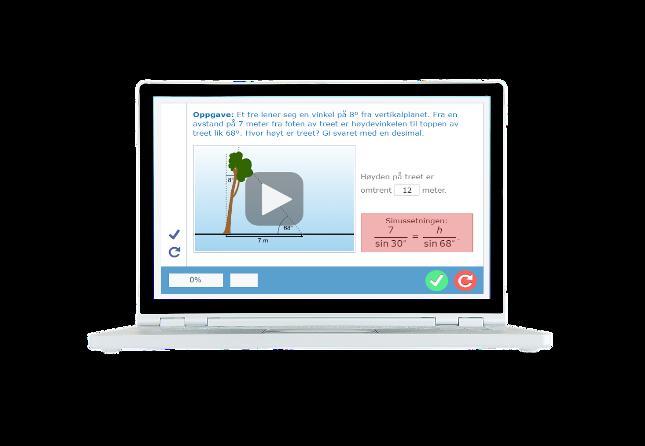 Digital lærebok på nett med enkel differensiering og læringsanalyse på vgs