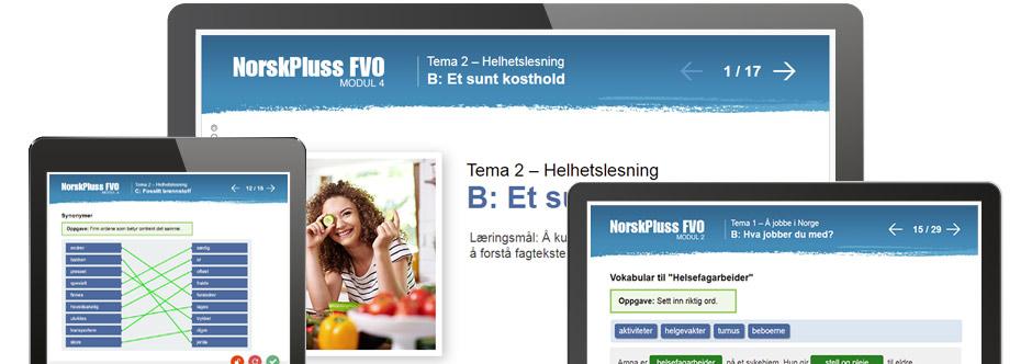 NorskPluss FVO skjermbilder